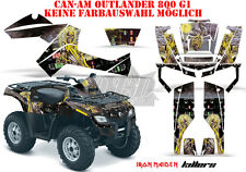 AMR RACING DEKOR GRAPHIC KIT ATV CAN-AM OUTLANDER IRON MAIDEN-KILLERS B