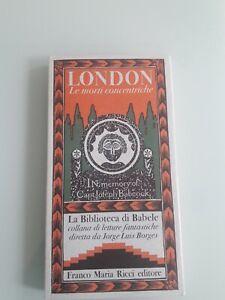 Franco Maria Ricci, LONDON: LE MORTI CONCENTRICHE Biblioteca di Babele 1, Borges