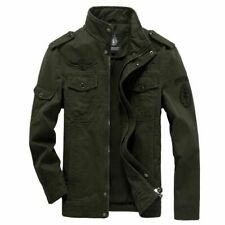 2019 Cotton Military Jacket Men 2019 Autumn Soldier MA-1 Style Army Jackets Male
