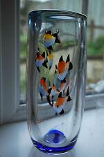Murano Cenedese Style Fish Vase     #6003