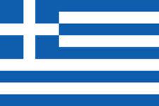Greece FLAG Iron on Screen Print for fabric Machine Washable Transfer Greek