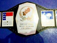 NWA Mid-Atlantic Championship Heavy weight Wrestling Belt Adult Size