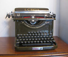Antique Typewriter  L.C Smith 8-11 Sectretarial   -1936 Model Works Great.