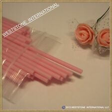 "Reusable 50pcs 6"" x 5/32"" Plastic lollipop sticks for cake pops lollipop candy"