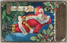 1912~A Merry Christmas~Santa Lighting Pipe~Kringle