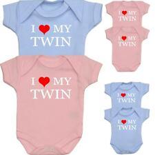 BabyPrem Baby Clothes for TWINS Pack of 2 Bodysuits Vests Premature - 12m