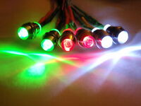 RC Lights Planes Heli's Helicopter Parkzone LED Lights Super Bright 2W2R2G 5mm