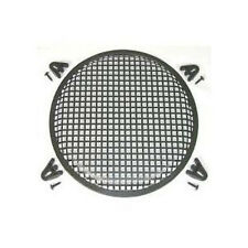 "ONE 10"" Steel Waffle Speaker Grills with Brackets and Screws****FREE SHIPPING**"