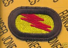 75th Inf Airborne Ranger LRP LRRP para oval patch #14