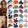 Women Flower Crystal Hair Clip Comb Rhinestone Hairpin Claw Clamp Headwear Lot