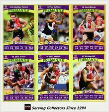 2010 AFL Teamcoach Trading Card Gold Parallel Team Set Fremantle (11)
