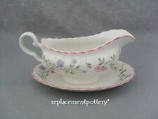 Johnson Brothers Summer Chintz Gravy Boat & Stand