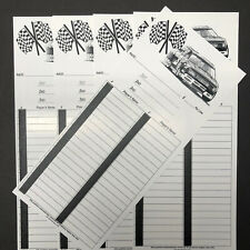 40 Line Position Nascar Race Gambling Boards / Cards Pull Strip Tab NEW 5 Count