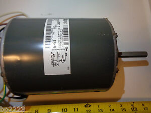GE 024-17753-700, 1/3 HP, 825 RPM, 460V, 1PH Condenser Motor 5KCP39PGH590 S, NEW