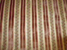 Ancien tissu ameublement velours rose french fabric style Louis XVI 61x61 cm P