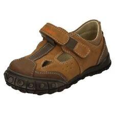 Calzado de niño sandalias de color principal marrón sintético