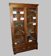 Oak Bookcase Double door with adjustable shelves