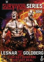 WWE: Survivor Series  DVD 2016 BRAND NEW FAST SHIPPING