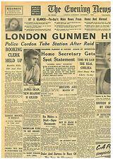 James Dean the New Brando is Dead Original Paper 1st October 1955 East of Eden