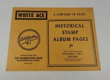 "White Ace United States Regular Issues Supplement ""USR-5"" 1964-1968 Stamp Album"