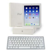 Apple iPad 3 64GB Wi-Fi, 3G with Retina Display + FREE Wireless Keyboard - White