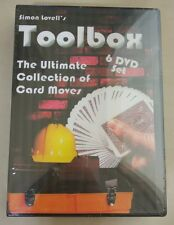 Sealed  6 DVD Simon Lovell Magic Trick Toolbox Card Gambling Secret for gamblers