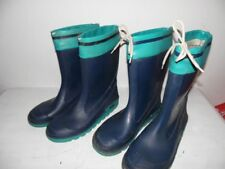2 Paar Gummistiefel, Stiefel, Größe 37 & 38  (4&5), Blau-türkis