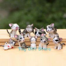 9 pcs Lovely Chi's Sweet Home Cat FIGURES Grey