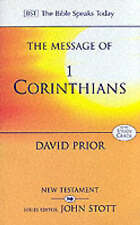 The Message of 1 Corinthians: Life in the Local Church (The Bible Speaks Today),
