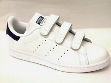 Adidas Stan Smith Mens Shoes Trainers Uk Size 7 - 10.5 S80042   White / Royal