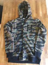 HUF Mens Classic H Fleece Varsity Jacket