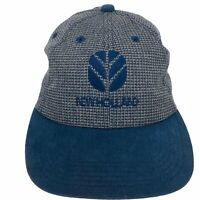 VINTAGE New Holland K Brand Products Embroidered USA Snapback Hat Slouch Cap
