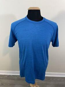Men's Lululemon Metal Vent Tech T-Shirt Blue Size Medium