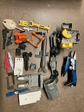 LOT of 28 - Vintage Transformers Hasbro 1980's G1 Weapons, guns, Parts