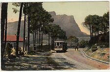 CGH: EDVII Postcard, Kloof Road, Cape Town: Cape Town-London, 4 Dec 1907