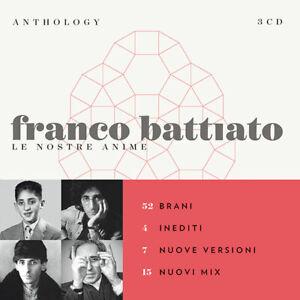 Battiato Franco Anthology Le Nostre Anime Cofanetto 3 Cd Nuovo Sigillato