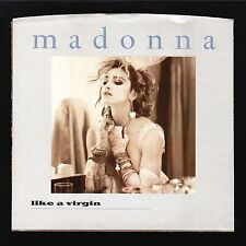 ORIGINAL VINTAGE PICTURE SLEEEVE ONLY Madonna Like A Virgin 1984 Almost NMINT