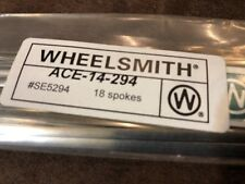 NEW Wheelsmith ACE-14-294mm Blade Spokes Bag of 18
