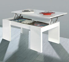 Rectangle Modern Coffee Tables with Flat Pack