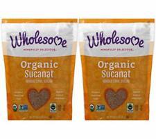 Wholesome Sweeteners Organic Sucanat Brown Sugar - 1 lb - 2 pc