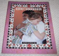 Amritanandam Fourth Quarter 1996 Vol. XI No. 4 Mata Amritanandamayi Ammachi Amma
