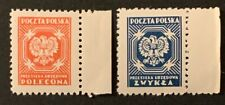 F5/70 Poland Stamp 1954 Official O29 O30 Mnhog A Great Coll.