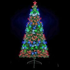 Künstlicher Weihnachtsbaum mit LED Beleuchtung - Edeltanne Christbaum Tannenbaum