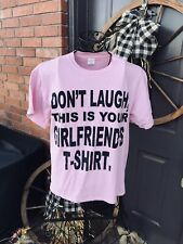 Men's Pink Vintage Graphic T-Shirt