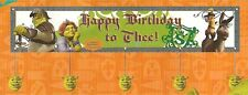 Shrek The Third ! Nice & Great Birthday Party Banner !