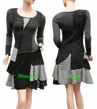 Hand-wash Only Polyester Check Pattern Dresses for Women