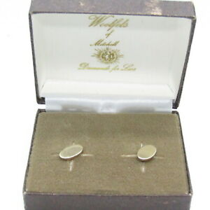 Vintage Gold Tone Earrings Dainty New Old Stock NOS Pierced