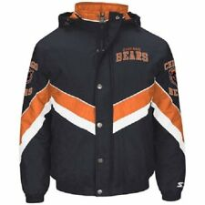 Chicago Bears Starter Future Heavyweight Full Zip Polyfill Jacket, w/ Hood