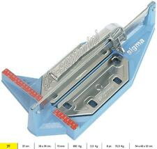 TILE CUTTER SIGMA 7F MANUAL PROFESSIONAL SERIE STANDARD CUTTING LENGHT 37 CM