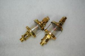 Brass Gas Engine Drip Oiler For Steam Engine Model  2 Pcs